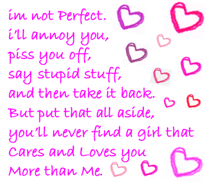 Im in love with you baby quotes